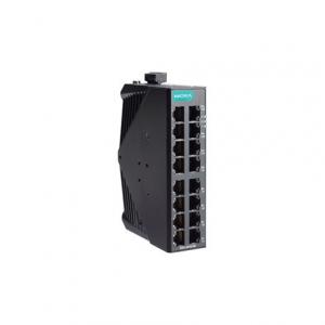 Switch: 16 x 10/100BaseT(X), -40 kuni 75°C, mittemanageeritav, metallist DIN