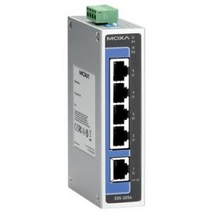 Switch: 5 x 10/100BaseT(X), -10 kuni 60°C, mittemanageeritav DIN