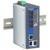 Switch: 3 x 10/100BaseT(X), 2 x 100BaseFX single-mode SC, -40kuni75°C