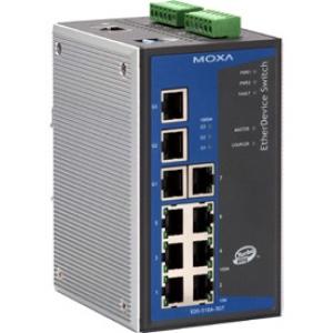 Switch: 7 x 10/100BaseT(X), 3 x 10/100/1000BaseT(X), 0 kuni 60°C