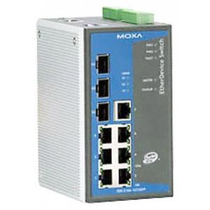 Switch: 7 x 10/100BaseT(X), 3 x SFP pesa (SFP-1G  seeria moodulitele), -40 kuni 75°C