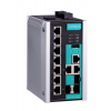 Switch: 7 x 10/100BaseT(X), 3 x 10/100/1000BaseT(X) või 3 x SFP pesa, -10 kuni 60°C