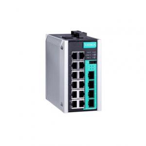 Switch: 12 x 10/100BaseT(X), 4 x 10/100/1000BaseT(X) või  x SFP pesa, -40 kuni 75°C