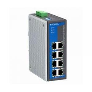 Switch: 4 x 10/100BaseT(X), 4 x PoE, -40kuni75°C, mittemanageeritav DIN