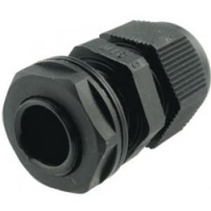 Kaabli läbiviik ø4,5...10mm, must IP68, koos mutriga