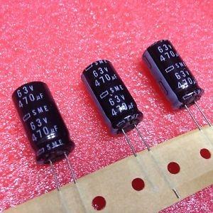Elektrolüüt kondensaator 470uF 50V 105°C 16x15mm