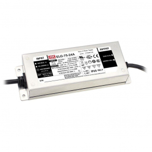 Toiteplokk LED 75W 24V 3.15A IP67