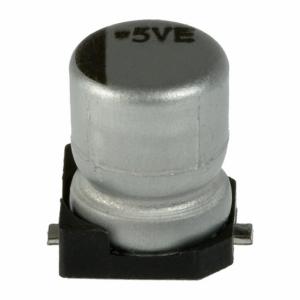 Elektrolüüt kondensaator 100uF 10V 105°C 6.3x5.2mm SMD