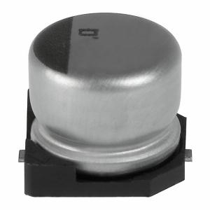Elektrolüüt kondensaator 330uF 35V 105°C 10x10mm SMD, Low ESR