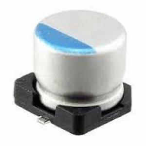Elektrolüüt kondensaator 100uF 35V 105°C 8x10mm SMD, Low ESR