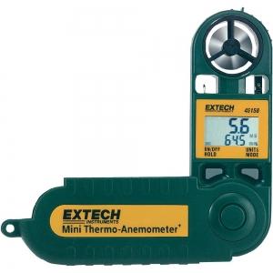 Mini Termo- anemomeeter, 0.5-28m/s, 10%RH to 95%RH