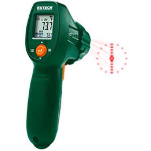 Infrapuna termomeeter koos UV lekkedetektoriga, -30...+500C, 12:1