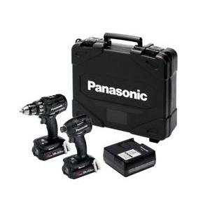 Komplekt: Akutrell + Akulöökmutrikeeraja Panasonic, Dual voltage 14.4/18V, 2x18V 5.0Ah akut komplektis