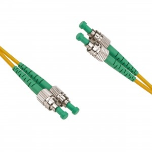 FO jätkukaabel singlemode FC/APC-FC/APC duplex 1.0m