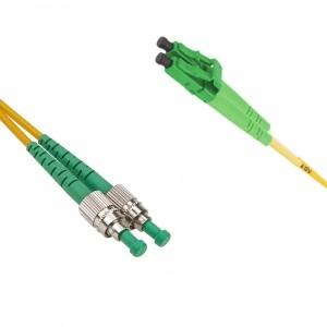 FO jätkukaabel singlemode FC/APC-LC/APC duplex 1.0m