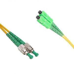 FO jätkukaabel singlemode FC/APC-SC/APC duplex 1.0m