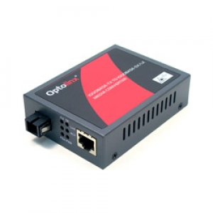 Tööstuslik konverter: 10/100/1000T(X) to 1000LX SF SM kuni 10km, WDM B, TX1550nm - RX1310nm