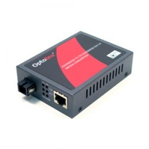 Tööstuslik konverter: 10/100/1000T(X) to 1000LX SF SM kuni 20km, WDM B, TX1550nm - RX1310nm