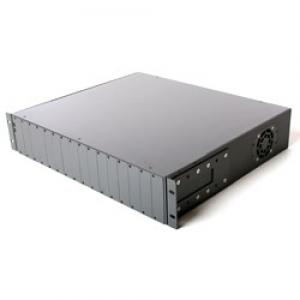 16-pesane shassi süsteem FO konverteritele koos AC toiteplokkiga