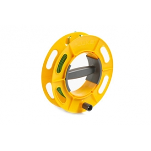 GROUND/EARTH CABLE REEL, 25M GREEN