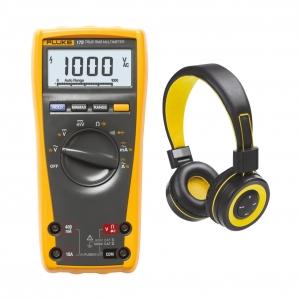 Multimeeter Fluke 175 + BT kõrvaklapid, TrueRMS...