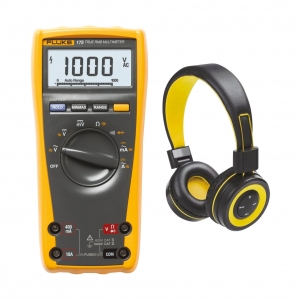 Multimeeter Fluke 175 + BT kõrvaklapid,...
