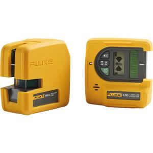 Laserlood Fluke LDG detektoriga, 2 kiirt, roheline