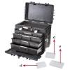 Tööriistakohver ratastega AI1 KT01 581x381x455mm