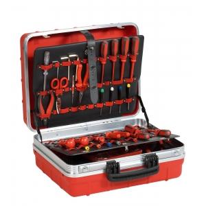Tööriistakohver 465X352X215mm ATOMIK/R PEL, punane