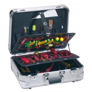 Tööriistakohver 465x343x170mm METAL LITE PEL Alumiinium