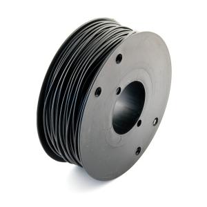 Montaažijuhe 1,0mm², must 500V PVC ø2,30mm, Cu