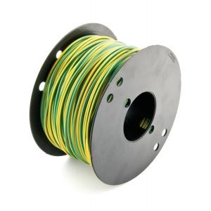 Montaažijuhe 1,5mm², kollane/roheline 700V PVC ø2,80mm,