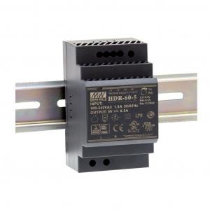 Toiteplokk DIN-liistule 60W 5V 6.5A -30 kuni 70C°