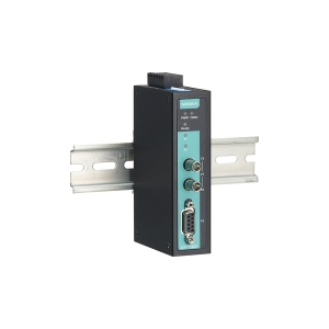 Konverter: PROFIBUS to fiber, multi-mode, ST connector, -40 to 75°C