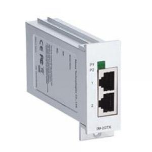 MOXA IM-2GTX Moodul EDS-728/828 seeria switchidele: 2 x 10/100/1000BaseT(X), 0 kuni 60°C