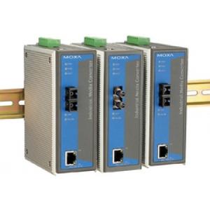 Tööstuslik konverter: 10/100BaseT(X) to 100BaseFX, multi mode, ST, 0 kuni 60°C