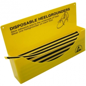 Disposable heel grounder DISPENSER