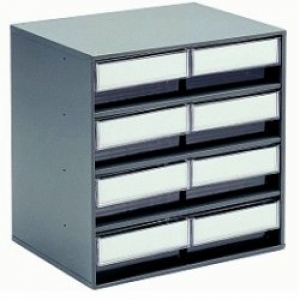 CABINET 0830-ESD  300x400x395(h)mm / 8 bins 3020-ESD
