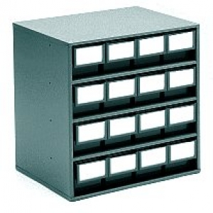 CABINET 1630-ESD  300x400x395(h)mm / 16 bins 3010-ESD