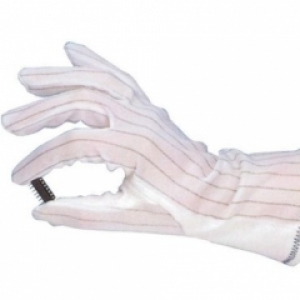GLOVES - White Dissipative - large size - pair
