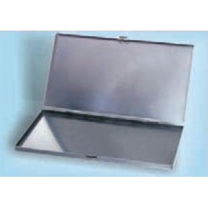 UTILITY BOX with hinge and metal fastener - NO Foam - int.288x156x16mm