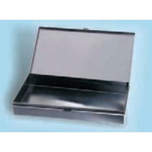 UTILITY BOX with hinge and metal fastener - NO Foam - int.288x156x38mm