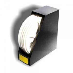 SMD SPOOL HOLDER - HOBBOX , corrugated conductive plast., for diam.180mm reels