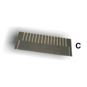 PACKING - CELL DIVIDER type C20 552mm length, 200mm height, 31mm pitch, 17 slits