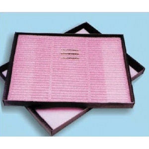 PACKING - Internal antistatic hard pink FOAM (108 place 60X3mm) - 235X294X6mm