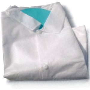 DISPOSABLE COAT  white colour - L
