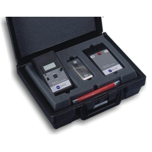 Ionizer Verification System (Fieldmeter+Test Fixture+Charger+Grounding Strap+Case)