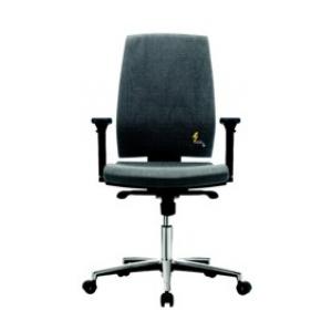 Töötool, comfort, Armrests, 420 kuni 550mm kõrgus, RUBBER CASTORS