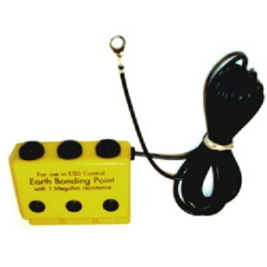 EBP BOX (Earth Bonding Point) - 2mt cable - 3x4mm plug sockets