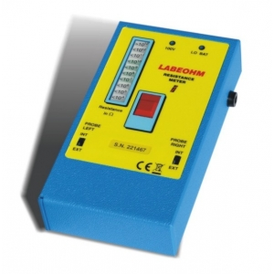 LABEOHM 100V - Resistivity tester  10^4 -10^12 Ohm/sq  with alarm